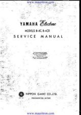 Buy Yamaha B4CR Manual by download Mauritron #320412