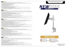 Buy Newstar FPMA D1010 Audio Visual Instructions by download #333484