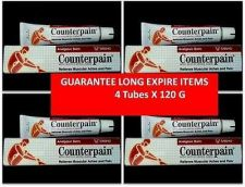 Buy COUNTERPAIN ANALGESIC BALM HOT WARM MUSCULAR PAIN RELIEVES ACHE 120 g X 4