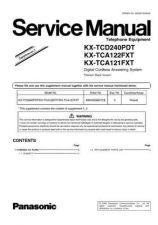 Buy Panasonic KX-TCA122EXS---------- Manual by download Mauritron #299721