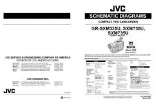 Buy JVC GR-SXM730PARTS Service Manual by download Mauritron #274369