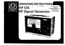 Buy AVO HF135 Signal Generator by download #335701