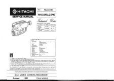 Buy Hitachi TK-3552E Service Manual by download Mauritron #286426