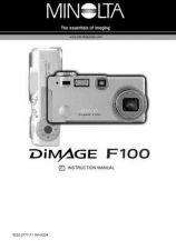 Buy Konica D F100 E Camera Operating Guide by download Mauritron #320668