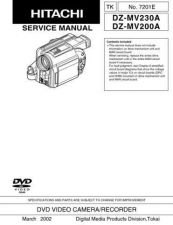 Buy Hitachi TK-7201E-2 Service Manual by download Mauritron #286560