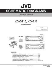 Buy JVC KD-S11J_sch Service Manual Circuits Schematics by download Mauritron #275090