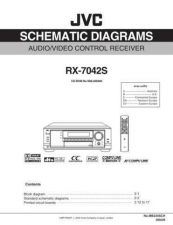 Buy JVC RX-7042S-15 Service Manual by download Mauritron #283217