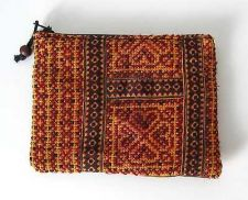 Buy Vintage Clutch Hmong Hill Tribe Embroidered Fabric Purse Bag