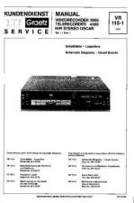 Buy ITT VR3995 VR4995 Service Manual by download #334662