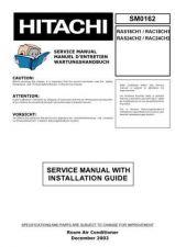 Buy Hitachi RAS-E14H Service Manual by download Mauritron #286161