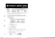Buy Hitachi TK-206 Service Manual by download Mauritron #286290