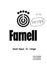 Buy Farnell G12-20A Power Supply by download Mauritron #337943