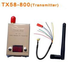 Buy NEW Product Boscam FPV System TX58-800 Emitter 32CH 5.8G 800mw AV Transmitter