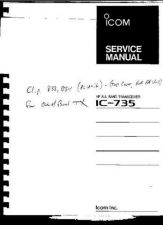 Buy Icom IC-735 Service manual by download Mauritron #329475
