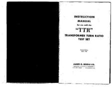 Buy Biddle TTR Operating Guide by download Mauritron #309818