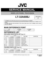 Buy JVC LT-32A60BJ Service Manual by download Mauritron #282704
