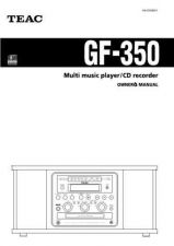 Buy Teac GF290ESP Operating Guide by download Mauritron #318735
