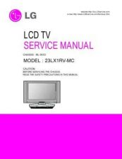 Buy LG 38289S0004G(23LX1RV-MC) Manual by download Mauritron #303705