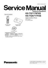 Buy Panasonic TG7170FX Manual by download Mauritron #302303