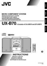 Buy JVC UX-B70-1 Service Manual by download Mauritron #284126