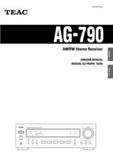 Buy Teac AG790AEF Operating Guide by download Mauritron #318265