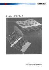 Buy STUDER D827 MCH Diagrams Schematics by download Mauritron #314642