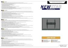 Buy Newstar LED W140 Audio Visual Instructions by download #333584