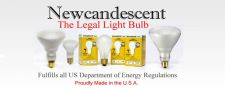 Buy Set of 10 100% Legal -60 Watt -10000 Hour- Frosted Newcandescent Light Bulbs