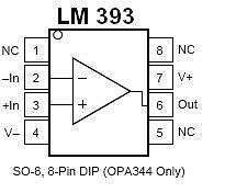 Buy IC - LM393 Dual Voltage Comparator IC (DIP-8) - 6 Pieces