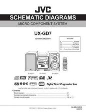 Buy JVC UX-GD7-21 Service Manual by download Mauritron #277186