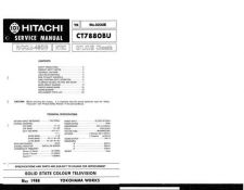 Buy Hitachi CT913 Service Manual by download Mauritron #289700