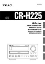Buy Teac CRH220EFSTCA Operating Guide by download Mauritron #318456