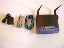 Buy BEFW11S4 v4 Linksys broadband DSL router switch internet w/EXTRAS wireless