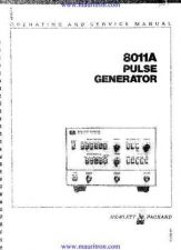Buy HP 8011A Manual by download Mauritron #322012