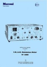Buy TF2370 Marconi Spectrum Analyser Operating Manual by download Mauritron #337853