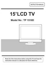Buy Cello 1510D Television Operating Guide by download Mauritron #328155