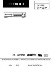 Buy Hitachi DVPF3EUK---- Service Manual by download Mauritron #289911