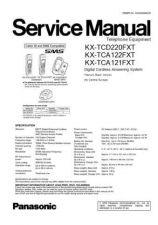 Buy Panasonic KX-TCA122ES][][][][][][][[] Manual by download Mauritron #299713