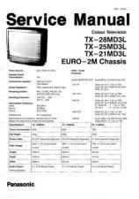 Buy Panasonic TX-28MD3 Manual by download Mauritron #302514