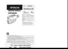 Buy Hitachi VM-E53A VM-E55A Service Manual by download Mauritron #291082