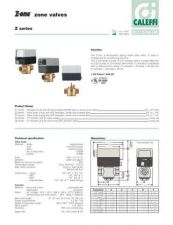Buy Honeywell caleffi zonevalvetechs Operating Guide by download Mauritron #316680