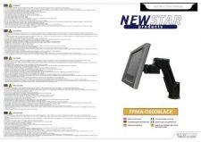 Buy Newstar FPMA D600BLACK Audio Visual Instructions by download #333501