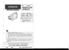 Buy Hitachi VM-E645LE-648845LE946ER Service Manual by download Mauritron #286931
