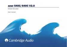 Buy Cambridge Audio Azur540C-640Cv2UserManual-English by download Mauritron #311812