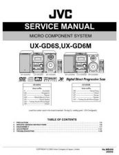 Buy JVC UX-GD6S-UX-GD6M Service Manual by download Mauritron #277171