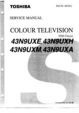 Buy TOSHIBA 43N9UXE SERVICE MANUAL by download Mauritron #327195