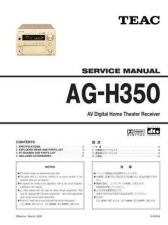 Buy Teac AG-H600_Series Service Manual by download Mauritron #319288