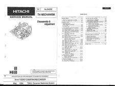Buy Hitachi THMech Service Manual by download Mauritron #286231