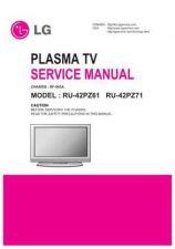 Buy LG RU42PZ61 Service Manual by download Mauritron #332175