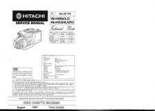 Buy Hitachi VM-E15A Service Manual by download Mauritron #286816